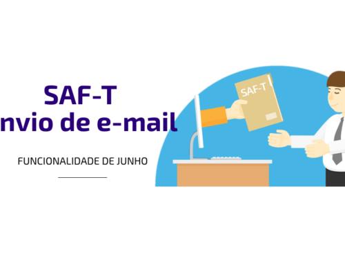 Funcionalidade de Junho: SAF-T envio de e-mail